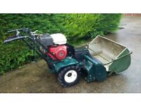 Hayter Condor Cylinder Mower 11hp Honda Engine c/w Grass Collector, perfect working order