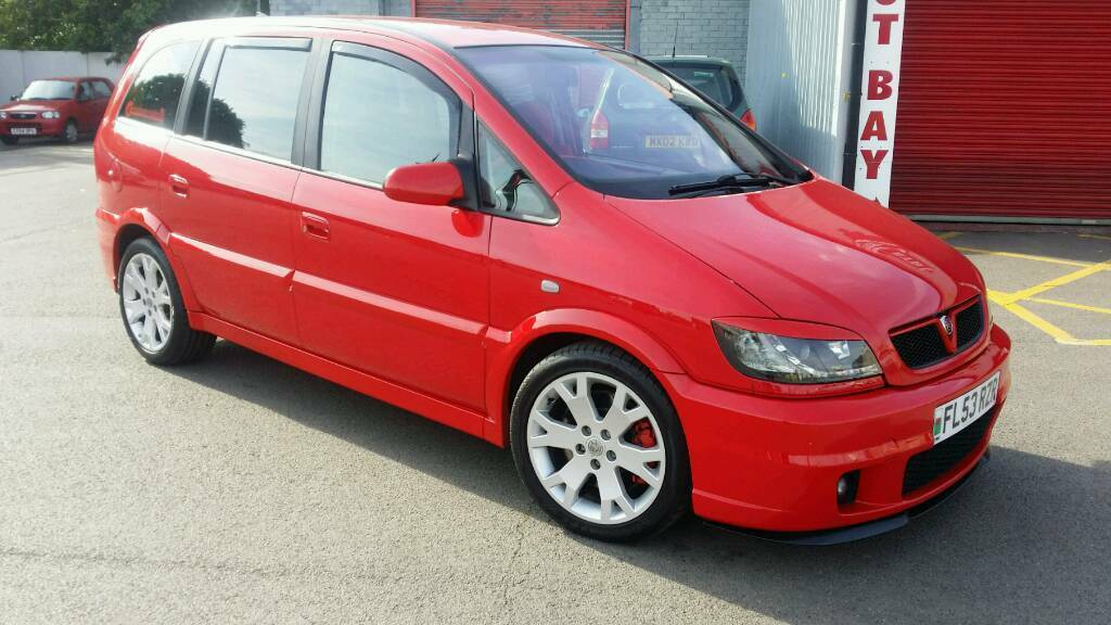 2003 vauxhall zafira gsi turbo rare flame red 1 of 22 made in barry vale of glamorgan gumtree. Black Bedroom Furniture Sets. Home Design Ideas
