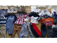 Boys clothes bundle 9-12 months