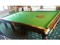 Full Size Snooker Table and Accessories for Sale