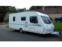 ACE AWARD FIRESTAR luxury fixed bed caravan 2008 model