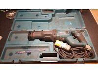 Makita jr3050t recpecator saw 110v
