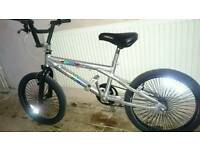 """Vertical bmx 20""""wheels, very good condition and working order."""