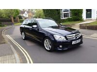 2008 MERCEDES BENZ C320 SPORT CDI AUTO ESTATE BLUE 1 PREVIOUS OWNERS FULL SERVICE HISTORY 2 KEYS