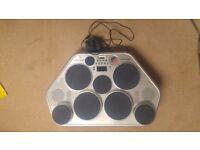 Yamaha drum kit electric pads dd55c