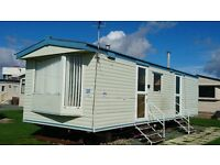 PRIVATE SALE - STATIC CARAVAN - NR MORECAMBE & LAKES. LOVELY CONDITION. HEATED POOL, BARS, SEA VIEWS