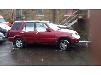 HONDA CRV 2.0 PETROL RED FULL CAR FOR BREAKING 1999 ONWARDS