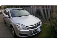 vauxhall astra 1.3cdti 5 door, silver,life, 167.000 miles fsh,mot till aug17 ,2 owners from new