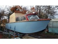 27ft Dawncraft River Cruiser project Boat
