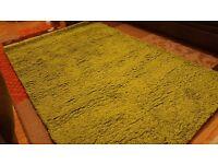 Lime Green Rug New Unused RRP £69.95