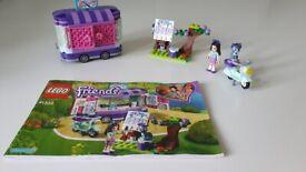 Lego Friends set 41332 Emma's Art stand