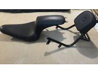 Seat with backrest to Yamaha xv950