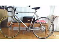 Vintage steel road bike Fixer Upper appr. 53cm
