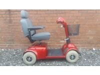 Pride Victory 4mph Mobility Scooter in red