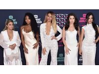 FIFTH HARMONY - BLOCK 110 ROW R - O2 ARENA - MON 10/10 - £35!