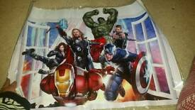 Marvel DC comics superhero wall sticker art