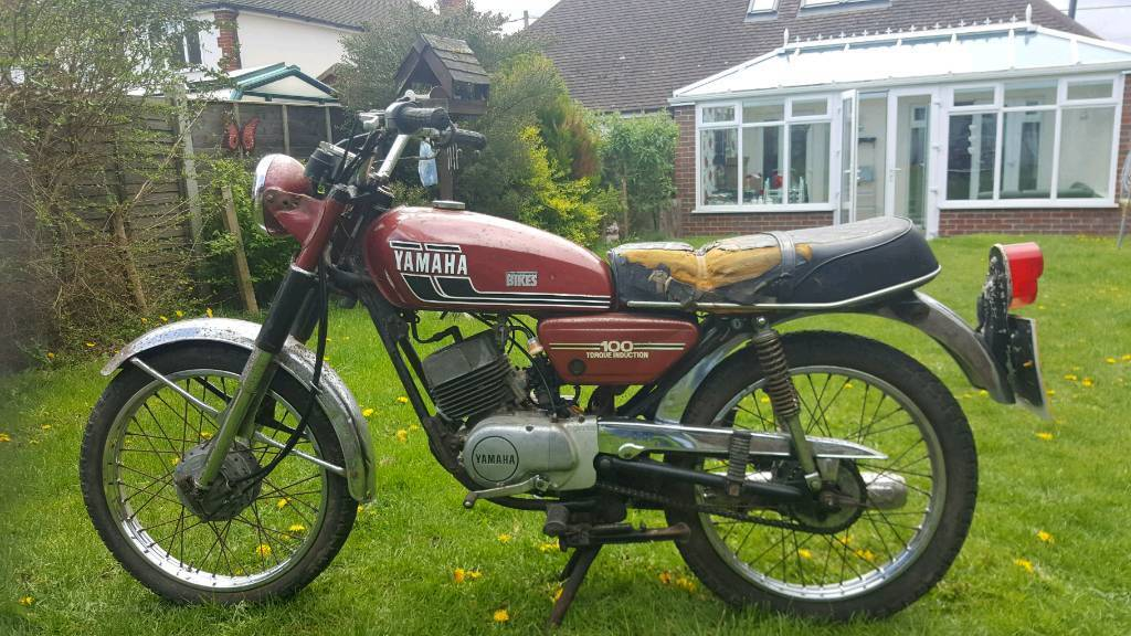 yamaha rs100 rs100 not rd barn find in camberley surrey gumtree. Black Bedroom Furniture Sets. Home Design Ideas