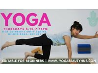 Yoga classes in Bradford | Ideal for beginners| Try something new| Be healthy and happy