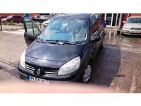 2004 Renault Scenic 1.5 DCI Diesel Black Drives Perfectly!