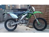 Kx250f 2006 fully road legal not ktm rmz rm crf cr klx kx kxf yz yzf