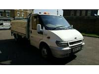 FORD TRANSIT LWB DROP SIDE TWIN AXLE CLEAN