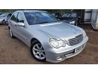 Mercedes-Benz C Class 1.8 C180 Kompressor Classic SE 4dr, AUTOMATIC,FSH,HPI CLEAR,LONG MOT,2 KEYS