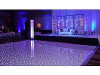 ★LED Starlit Dancefloor Hire ★- South Wales, Bristol, Gloucester ★ Wedding Event Hire ★