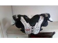 Riddell Warrior III shoulder pads ,American football