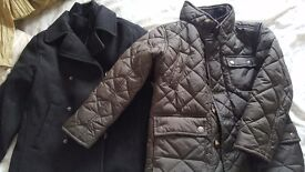Brown quilted Next jacket