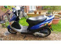 Xinling 49cc Moped