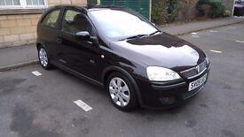 """"""""" Vauxhall Corsa SXI 1.2 petrol ,FULL MOT .LOW MILAGE"