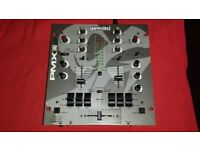 DJ mixer - Gemini - Designed and engineered in USA -> Gemini.