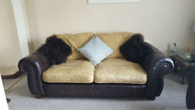 2 x 3 seater settee's for sale