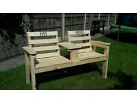 Handmade benches