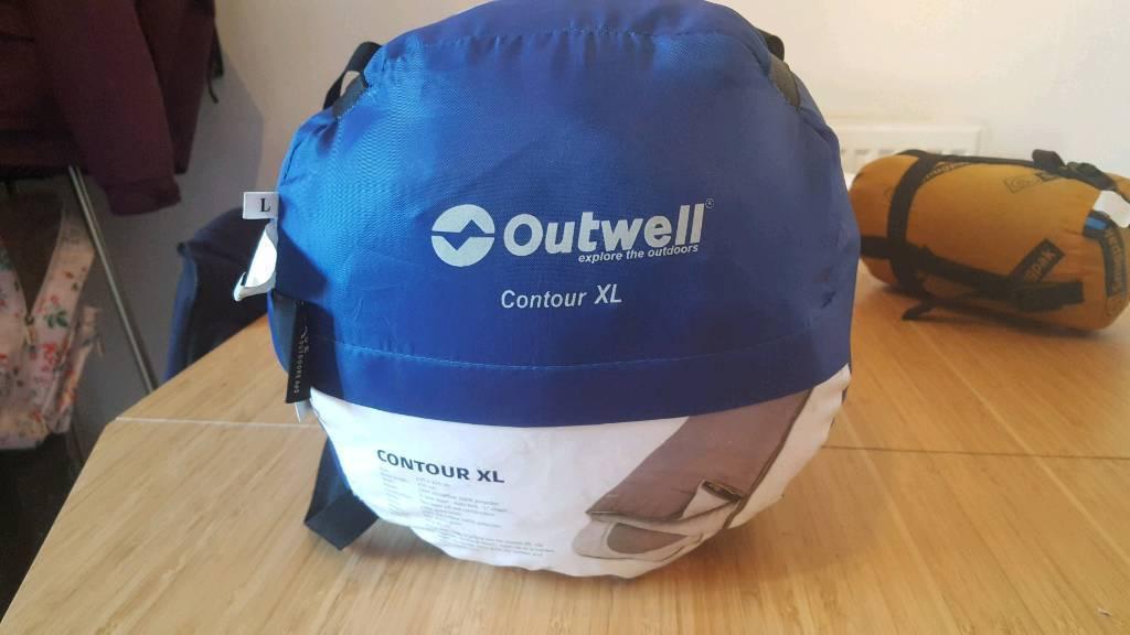 outwell contour xl sleeping bag