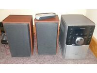 Stereo system with CD player for sale