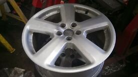 "Audi 18"" alloy wheels"
