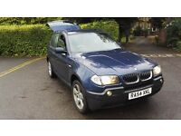 BMW X3 Lpg/petrol conversion 3.0 ltr automatic,Mot due jan 2017,and loaded with gadgets