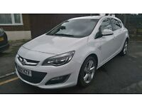 2012 VAUXHALL ASTRA 1.6 AUTOMATIC