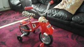 PORTABLE KIDDIES BICYCLE