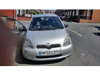 Toyota yaris very good condition for seel