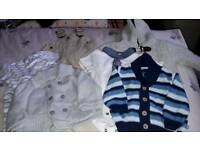 Bundle boys winter clothes 3-6 months