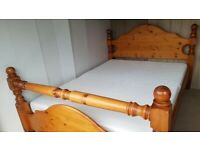 massive Double Bed frame - possible free delivery