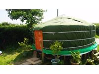 YURT FOR SALE, Beautiful Brand New Authentic Mongolian Yurt, 5m/16.5ft Marquee Bell tent Ger Tipi