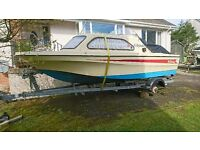 Shetland Family 4 Cabin Cruiser Mk2. Fast Fishing Boat,