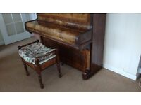 Upright Piano by Spencer