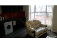 1 Bedroom flat ,fully furnished in Bolton close to city center and public transport ,