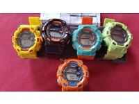 BRAND NEW STRADA WATCHES WITH COLOURED FRONTS AND STRAPS