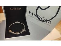Pandora bracelet with charm- great valentines gift 💝