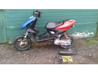 Aerox 50cc project,spares.v5 keys